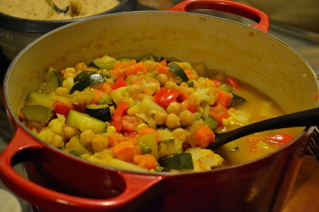 Vegetable Curry Stew with Chickpeas | THE CLASSICAL KITCHEN