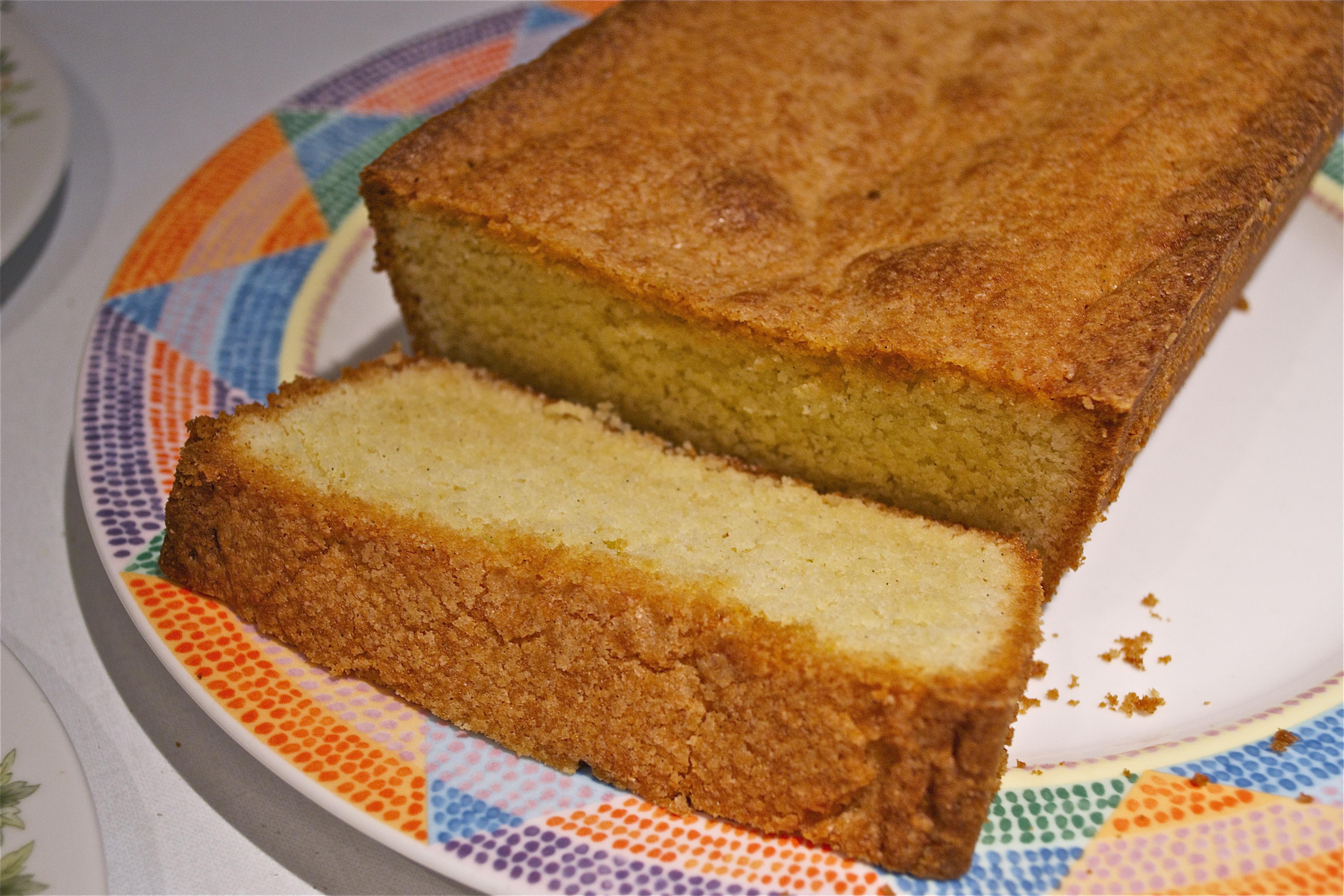 Golden Vanilla Bean Pound Cake | THE CLASSICAL KITCHEN