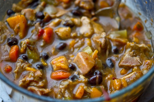 BlackBeanChickenSoup