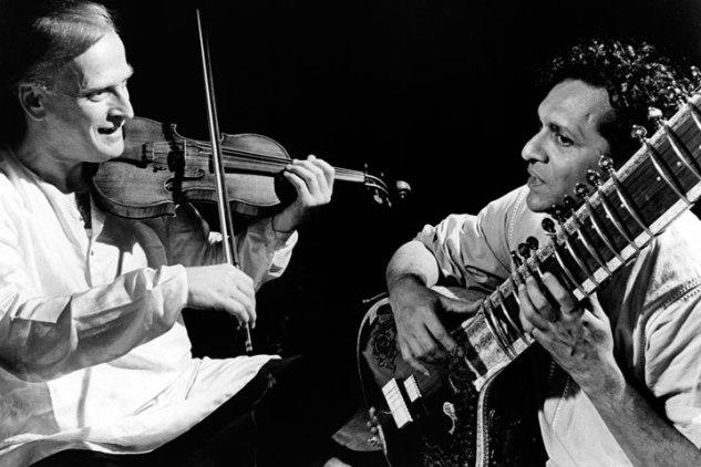 Menuhin and Shankar