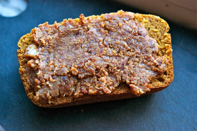 Pumpkin Bread with Bacon Jam 2