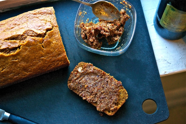 Pumpkin Bread with Bacon Jam 3