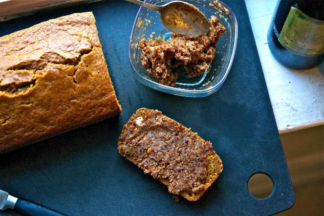 Pumpkin Bread with Bacon Jam 3