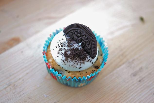 Cookies & Cream Cupcakes 1
