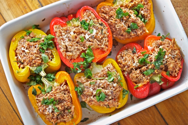 Stuffed Bell Peppers 1