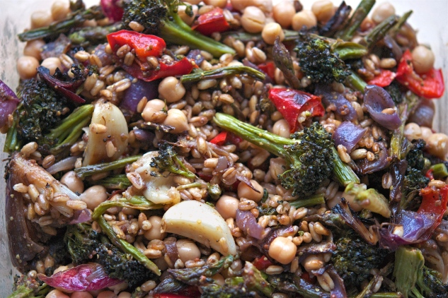 Vegetable Farro Salad 6