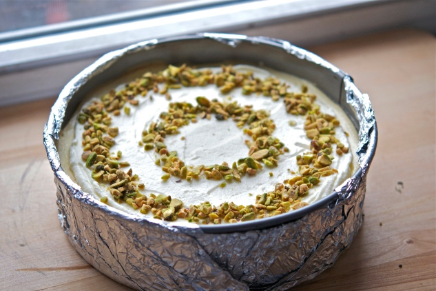 Cardamom Cheesecake 1