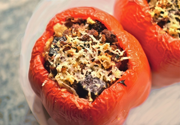 Lamb Stuffed Peppers 6
